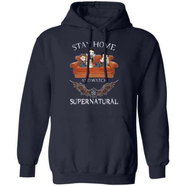 redirect 321 600x600 - Stay home and  watch Supernatural shirt