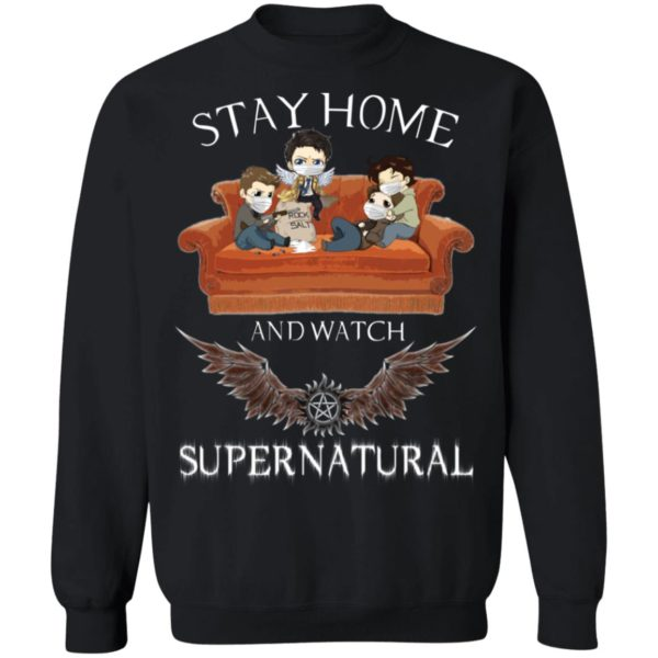 redirect 322 600x600 - Stay home and  watch Supernatural shirt