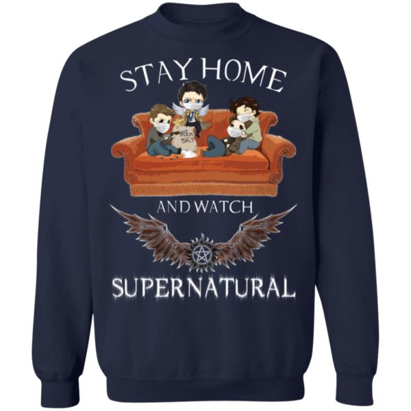 redirect 323 600x600 - Stay home and  watch Supernatural shirt