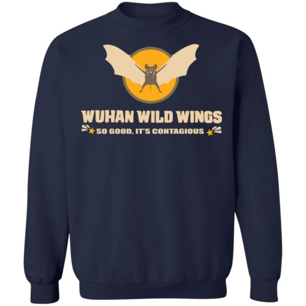 redirect 403 600x600 - Wuhan wild wings so good it's contagious shirt