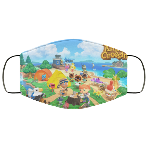 redirect 113 600x600 - Animal Crossing Face Mask Washable, Reusable