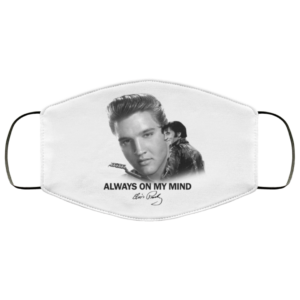 redirect 114 300x300 - Always on my mind Elvis Presley face mask Washable, Reusable