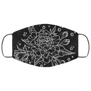 redirect 13 300x300 - Roses and Bubbles face mask Reusable, Washable