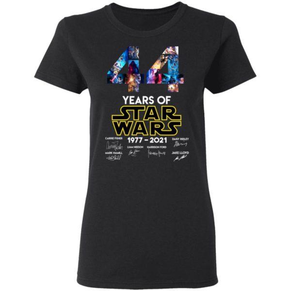 redirect 1322 600x600 - 44 years of Star Wars 1977-2021 signature shirt