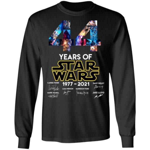 redirect 1324 600x600 - 44 years of Star Wars 1977-2021 signature shirt