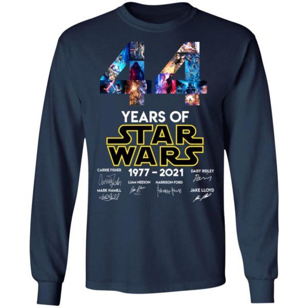 redirect 1325 600x600 - 44 years of Star Wars 1977-2021 signature shirt