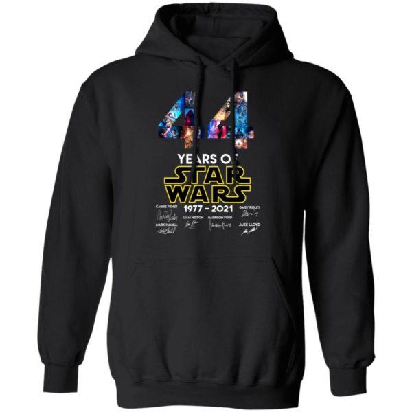 redirect 1326 600x600 - 44 years of Star Wars 1977-2021 signature shirt