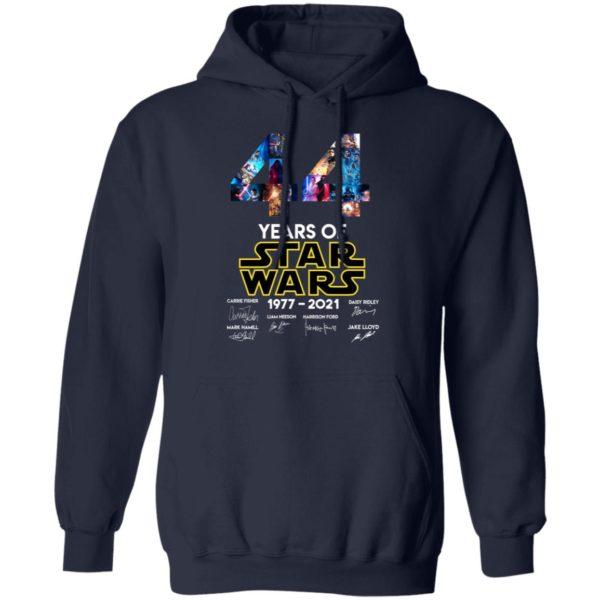 redirect 1327 600x600 - 44 years of Star Wars 1977-2021 signature shirt