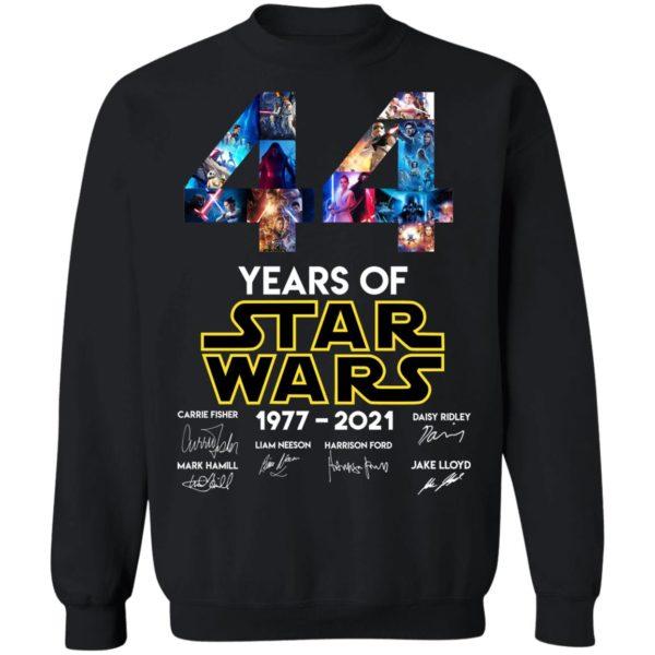 redirect 1328 600x600 - 44 years of Star Wars 1977-2021 signature shirt
