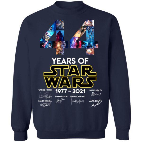 redirect 1329 600x600 - 44 years of Star Wars 1977-2021 signature shirt