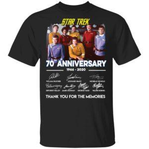 redirect 1330 300x300 - Star Trek 70th anniversary 1966-2020 thank you for the memories shirt