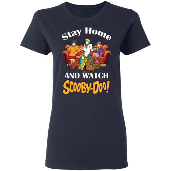 redirect 1553 600x600 - Stay home and watch Scooby Doo shirt