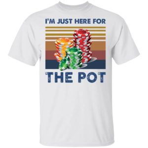 redirect 1580 300x300 - I'm just here for the pot shirt