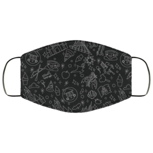 redirect 16 300x300 - Magical Pattern face mask Reusable, Washable