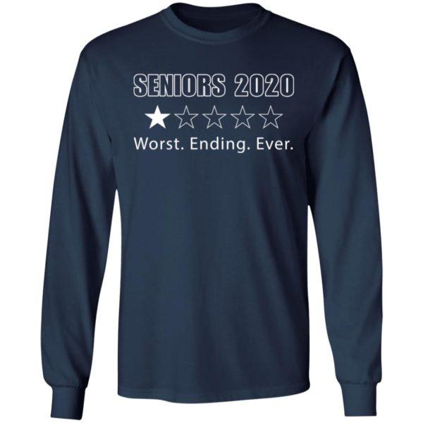 redirect 1715 600x600 - Seniors 2020 worst ending ever shirt