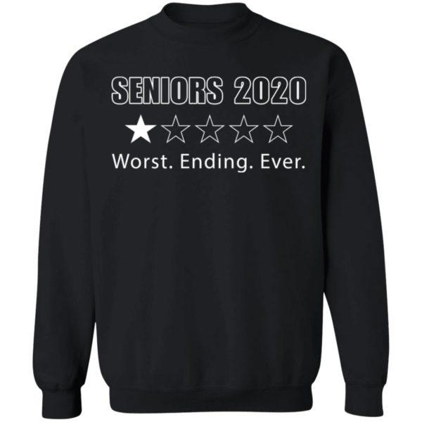 redirect 1718 600x600 - Seniors 2020 worst ending ever shirt