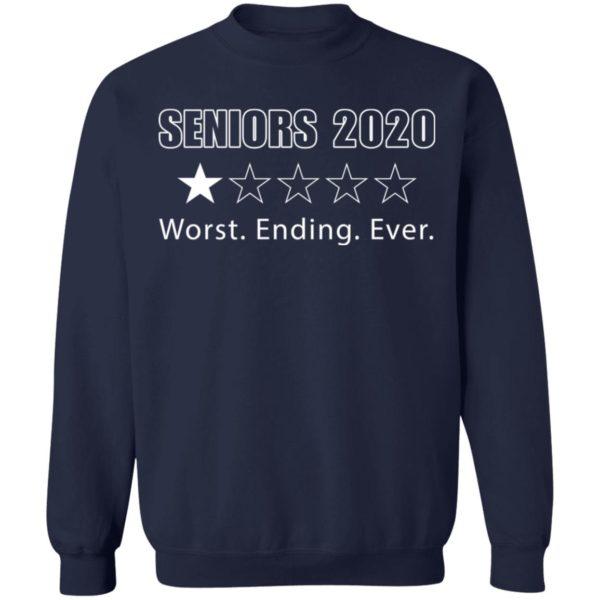 redirect 1719 600x600 - Seniors 2020 worst ending ever shirt