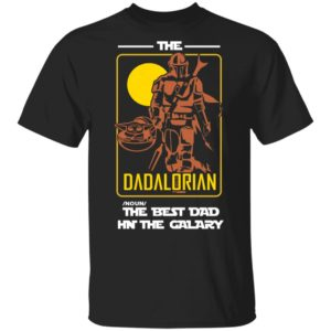 redirect 2183 300x300 - The Dadalorian the best dad in the galaxy shirt