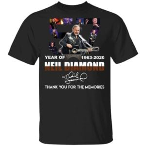 redirect 2529 300x300 - 57 year of 1963-2020 Neil Diamond thank you for the memories shirt