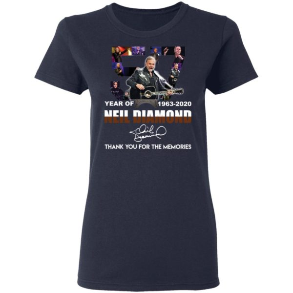 redirect 2532 600x600 - 57 year of 1963-2020 Neil Diamond thank you for the memories shirt