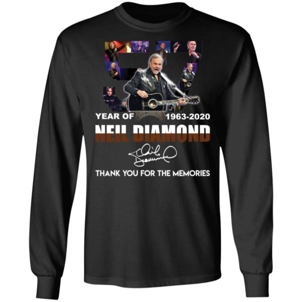 redirect 2533 600x600 - 57 year of 1963-2020 Neil Diamond thank you for the memories shirt