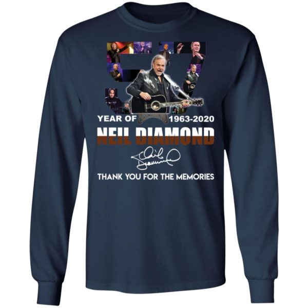 redirect 2534 600x600 - 57 year of 1963-2020 Neil Diamond thank you for the memories shirt