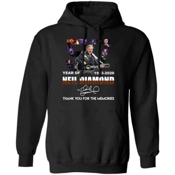 redirect 2535 600x600 - 57 year of 1963-2020 Neil Diamond thank you for the memories shirt