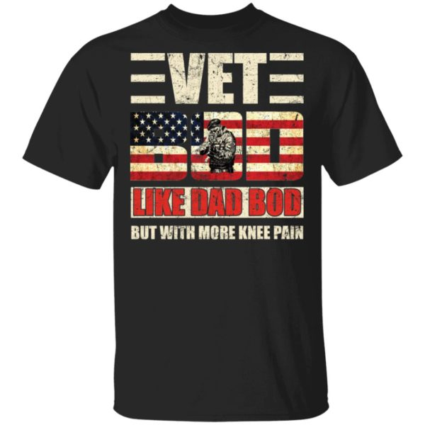 redirect 2749 600x600 - Vet Bod like a Dad Bod but with more knee pain shirt