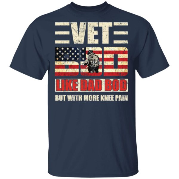 redirect 2750 600x600 - Vet Bod like a Dad Bod but with more knee pain shirt