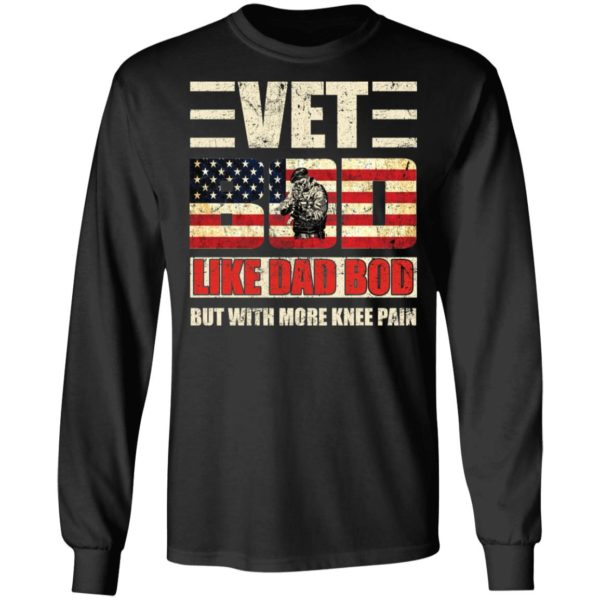 redirect 2753 600x600 - Vet Bod like a Dad Bod but with more knee pain shirt
