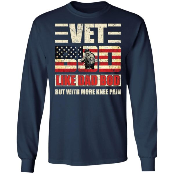 redirect 2754 600x600 - Vet Bod like a Dad Bod but with more knee pain shirt