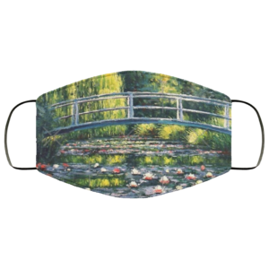 redirect 28 300x300 - The Water Lily Pond face mask Reusable, Washable