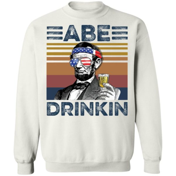 redirect 2988 600x600 - Abraham Lincoln ABE Drinkin 4th of July Independence shirt