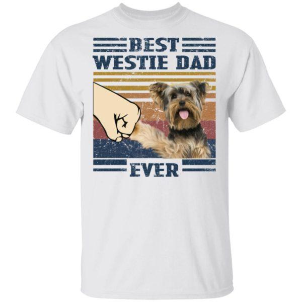 redirect 3244 600x600 - Yorkshire Terrier best westie dad ever vintage shirt