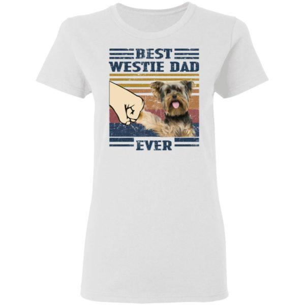 redirect 3246 600x600 - Yorkshire Terrier best westie dad ever vintage shirt