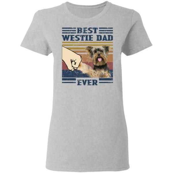 redirect 3247 600x600 - Yorkshire Terrier best westie dad ever vintage shirt