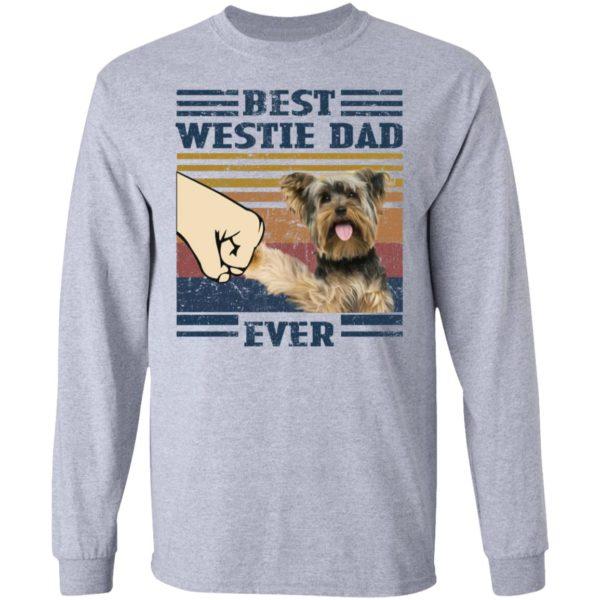 redirect 3248 600x600 - Yorkshire Terrier best westie dad ever vintage shirt