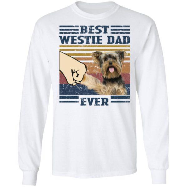 redirect 3249 600x600 - Yorkshire Terrier best westie dad ever vintage shirt