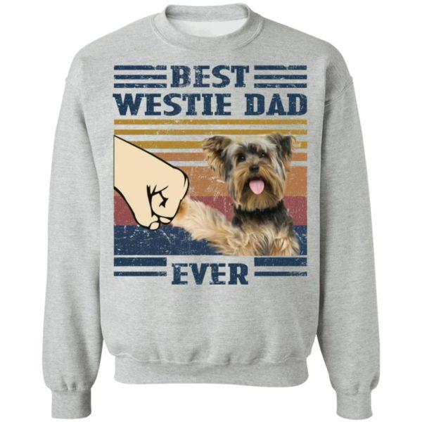 redirect 3252 600x600 - Yorkshire Terrier best westie dad ever vintage shirt
