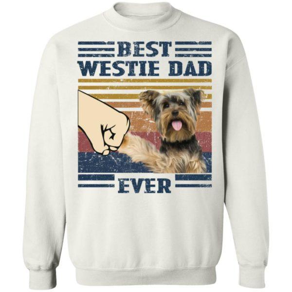 redirect 3253 600x600 - Yorkshire Terrier best westie dad ever vintage shirt