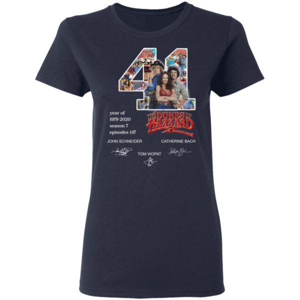 redirect 3277 600x600 - 41 year of 1979-2020 The Dukes of Hazzard signature shirt