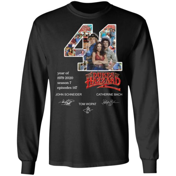 redirect 3278 600x600 - 41 year of 1979-2020 The Dukes of Hazzard signature shirt