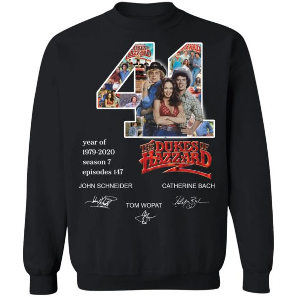 redirect 3282 600x600 - 41 year of 1979-2020 The Dukes of Hazzard signature shirt