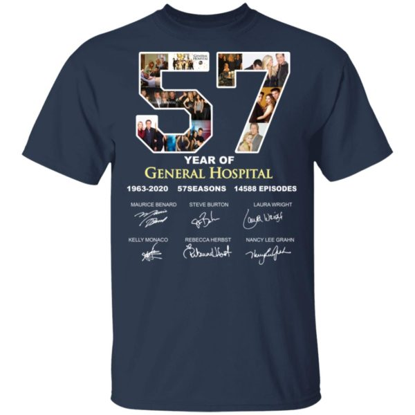 redirect 3285 600x600 - 57 year of General Hospital signature shirt