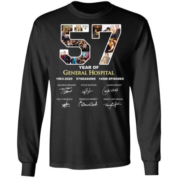 redirect 3288 600x600 - 57 year of General Hospital signature shirt