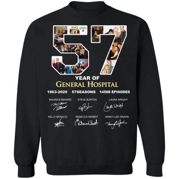 redirect 3292 600x600 - 57 year of General Hospital signature shirt