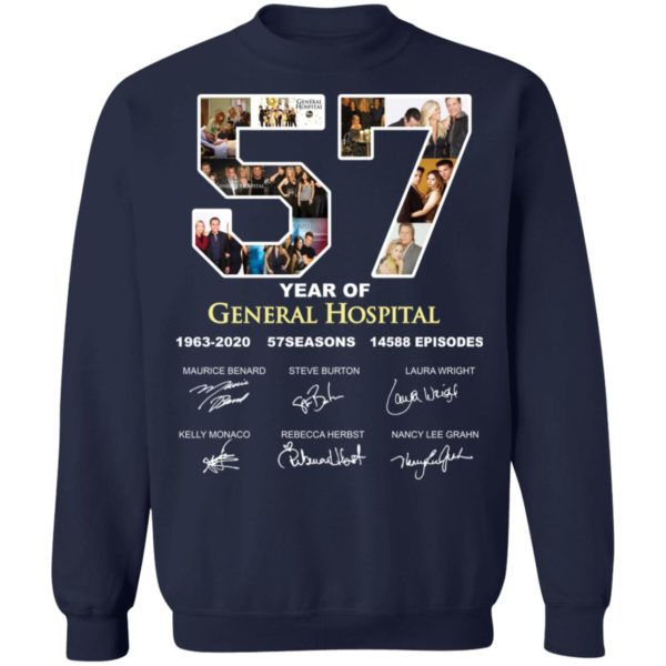 redirect 3293 600x600 - 57 year of General Hospital signature shirt