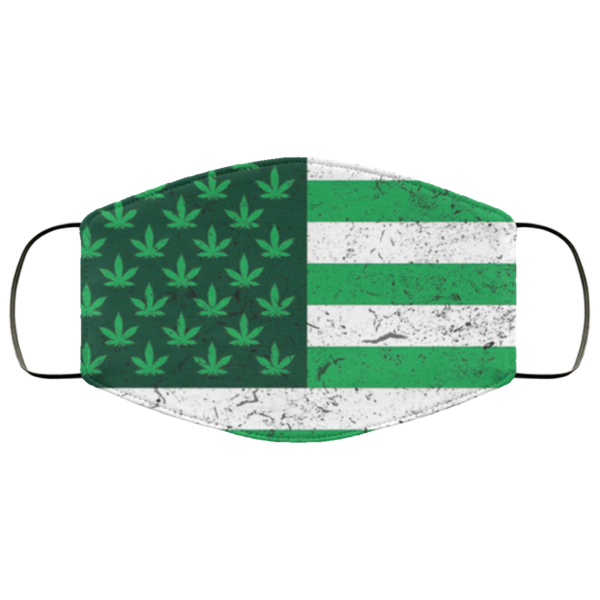 redirect 50 600x600 - American weed flag face mask Reusable, Washable