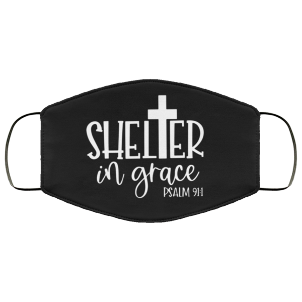 redirect 59 600x600 - Shelter in grace face mask Reusable, Washable