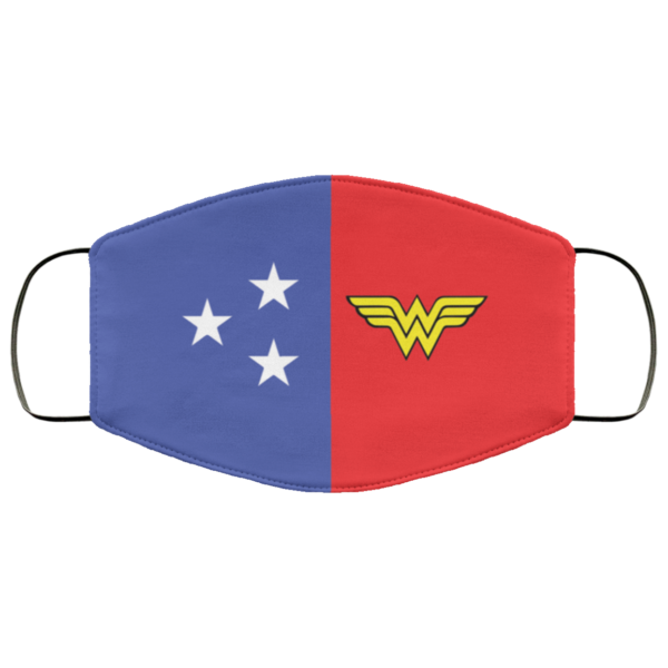 redirect 77 600x600 - Wonder Woman face mask Reusable, Washable
